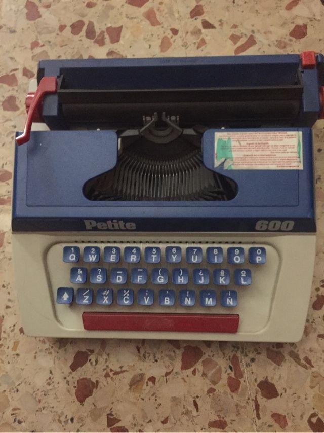 Maquina de escribir para niños
