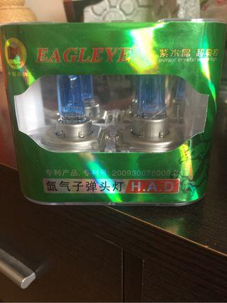 Bombillas H4 efecto Xenon