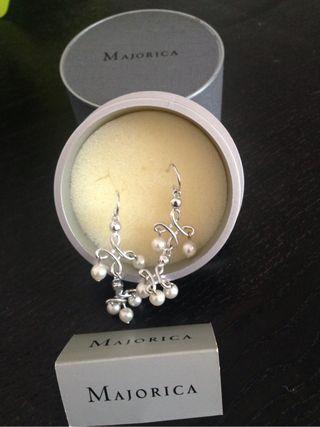 Pendientes de perla Majorica