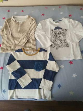 3 camisetas niño