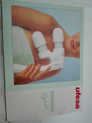Aparato masaje sin uso