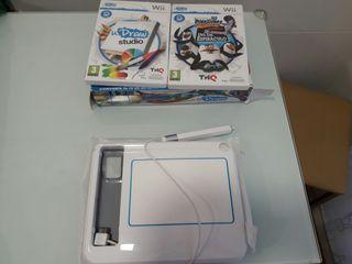 U draw game tablet + dos juegos
