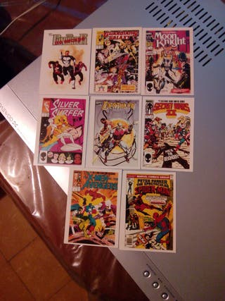 Trading Cards Marvel de 1991