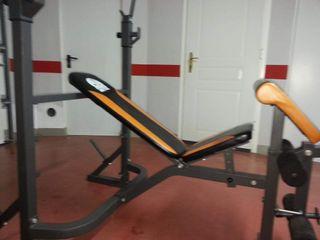 banco de pesas fitness doctor
