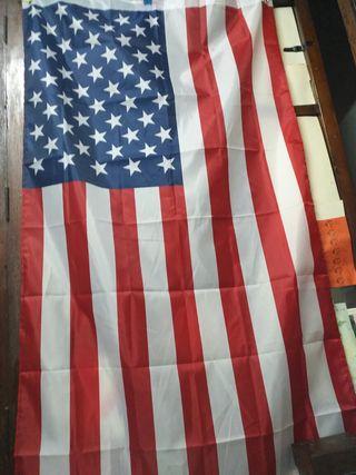 Bandera americana (Grande).