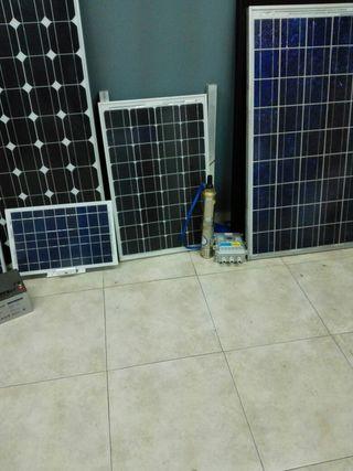 placas solares reguladores inversores