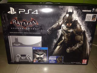 Ps4 500 Gb edición Batman Arkham Knight
