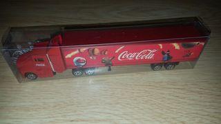 camión coca cola nuevo antiguo