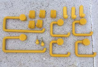 Set baño amarillo