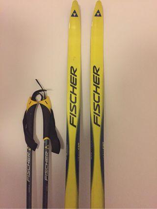 Ski de fondo Skating Fisher OFERTA