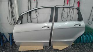 Mercedes A W 169 despiece puertas y cristales