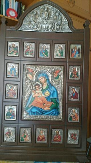 Reproducción de cuadro Bizantino