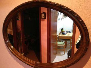 OFERTA!!!! recibidor con espejo y madera.