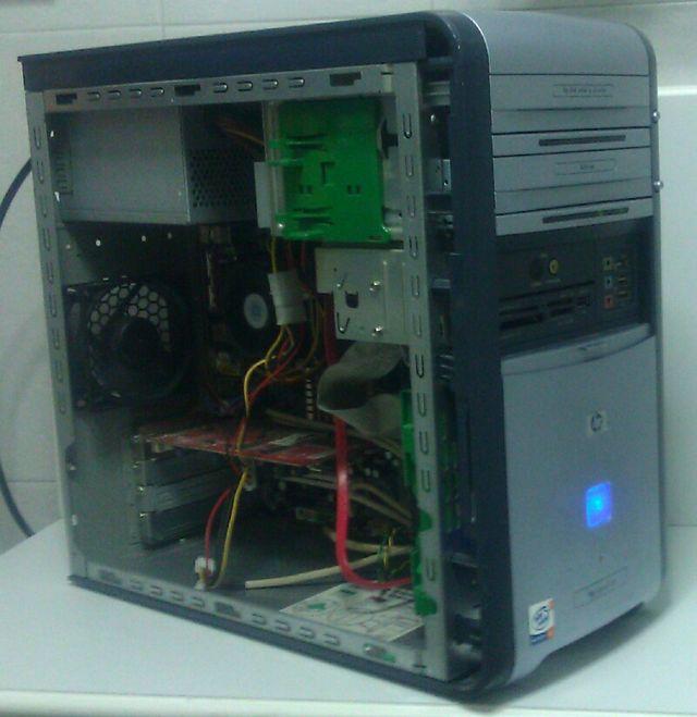 Ordenador HP Pavilion Pentium 4, 1GB, 80GB