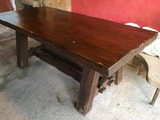 Mesa rstica madera maciza de segunda mano por 300 en Torroella de