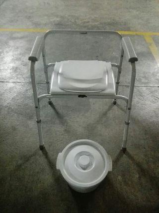 silla water ancianos