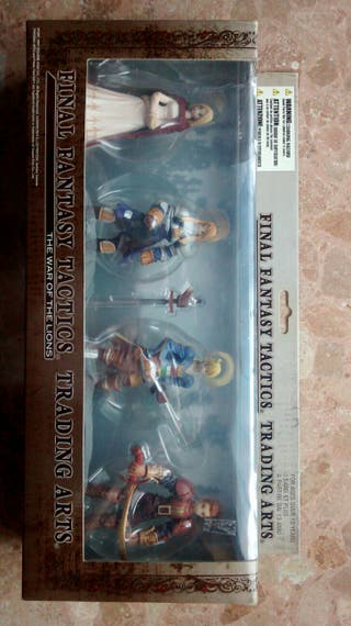 Pack 4 Figuras Final Fantasy Tactics