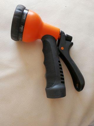 pistola alcachofa para manguera