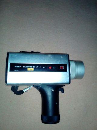 camara de video antigua de 8mm,funciona bien es c