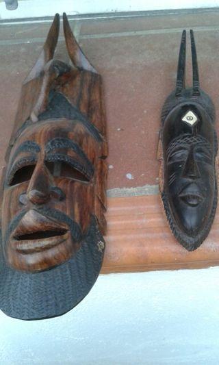 màscares africanes decoració