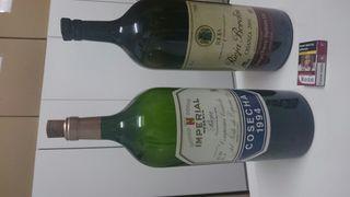2 botellas de vino 6 litros vacias