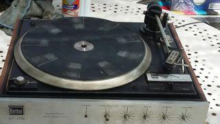 tocadiscos estéreo