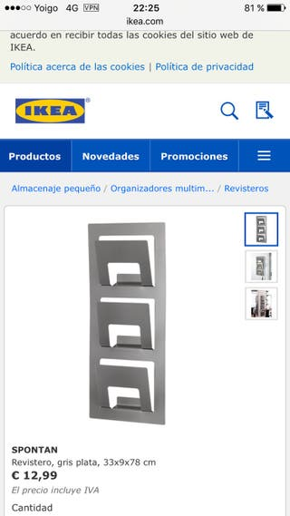 Revistero Ikea