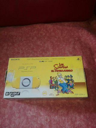 PSP versión simpson