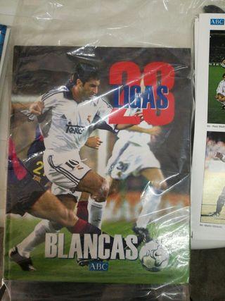 libro 28 ligas blancas fútbol