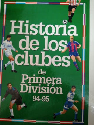 Libro fútbol historia de los clubs