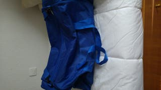 bolsa de deporte poco uso azul