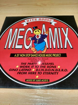Vinilo Hits House Megamix