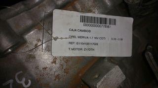 caja de cambios opel meriva