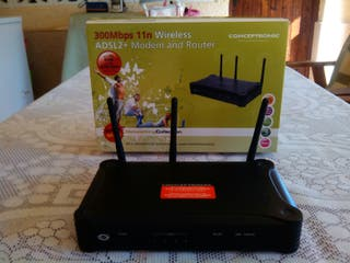 Moden and Router