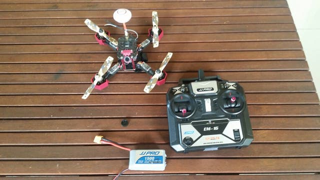 DRONE CARRERAS CON TODO