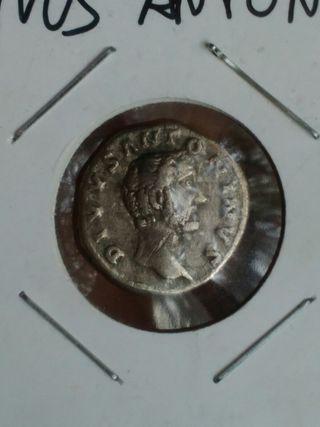 moneda romana ( denario )