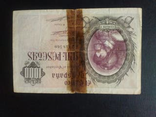 1000 pesetas de 1940