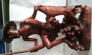 Talla de madera de Bali