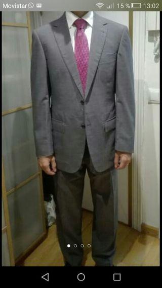 traje emidio tucci talla 48