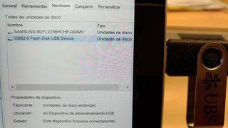 Pendrive-USB 2.0 Flash Disk 1GB (bajado precio)