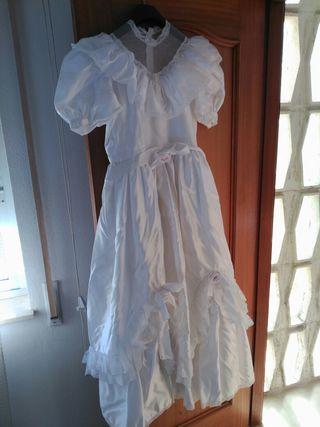 vestido comunion niña alta