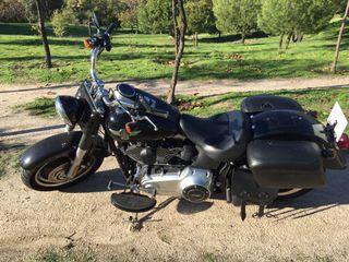 Harley davidson fat boy special! Casi km 0! 2.600km!