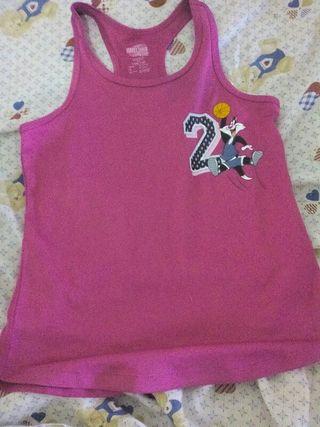 Camiseta de la looney toons de niña de 8 a 10 años