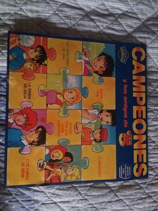 Campeones disco vinilo LP