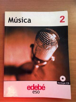 Libro musica 2 ESO EDEBE