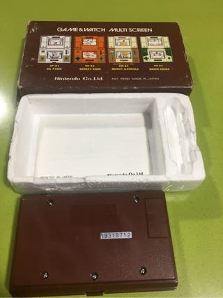 Game and watch Donkey Kong II nintendo