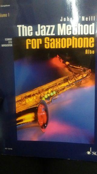 Jazz method for Saxophone alto (Libro +CD)