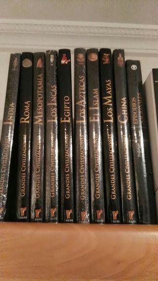 enciclopedia grandes civilizaciones