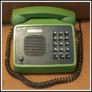 Teléfono Vintage Verde. Vendo + cosas x mudanza!