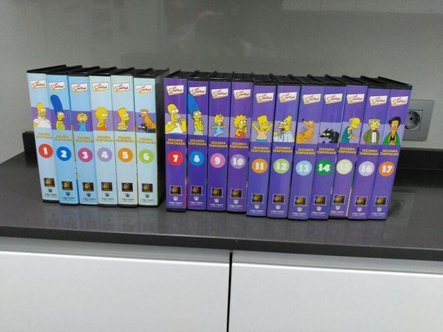 SIMPSON 32 CINTAS VHS